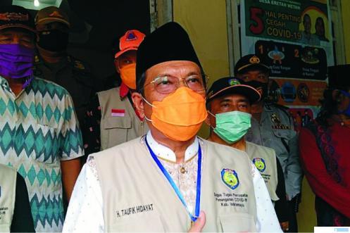 Plt Bupati Kabupaten Indramayu, Taufik Hidayat. HUMAS PEMKAB INDRAMAYU