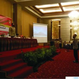 Fokus Group Discussion (FGD) Kelompok Sadar (Pokdar) Keamanan dan Ketertiban Masyarakat (Kamtibmas) se-Sumatera Barat, Rabu (2/9/2020). JON