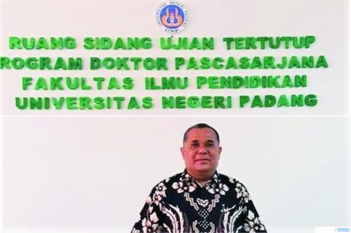 Dr. Dasril, S.Pd, M.Pd, Sekretaris Kominfo Pemko Payakumbuh. HUMAS