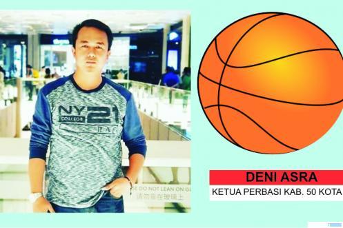 Deni Asra, S.Si diamanahkan menjadi Ketua Umum Perbasi Kabupaten Limapuluh Kota. Ketua DPRD ini diharapkan dapat mengharumkan nama basket Luhak Nan Bungsu di tingkat Sumatera Barat, bahkan nasional. JNC