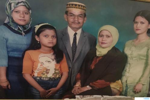 H. Arman dan keluarganya. IST