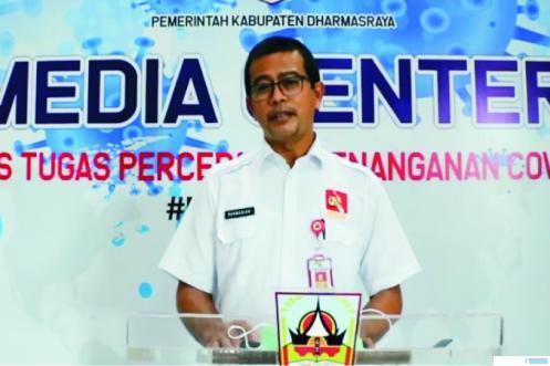 Kadis Kesehatan Pemkab Dharmasraya, dr. Rahmadian, S. DI