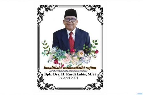 Drs. H. Rusdi Lubis, M.Si