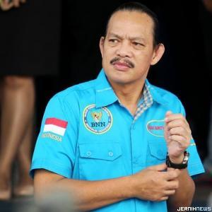Deputi Bidang Pemberantasan BNN, Arman Depari (Foto: Ari Saputra)