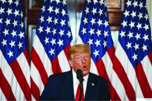 Presiden AS, Donald Trump. NET