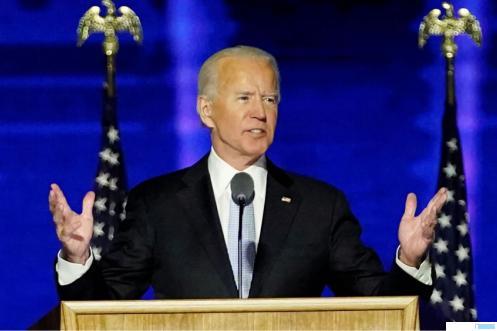 Joe Biden, Presiden Amerika Serikat (AS). NET