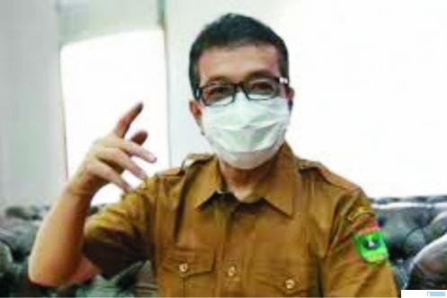 Jasman Rizal Dt. Bandaro Bendang, Kadis Kominfo Provinsi Sumatera Barat yang juga Juru Bicara Gugus Tugas Penanganan Covid-19 Sumbar. NET