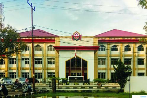 Rektorat Kampus UIN Imam Bonjol di Padang. NET