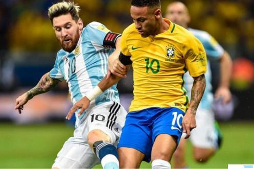 Argentina dan Brasil akan berlaga pada ajang final Copa America 2021 yang akan dilaksanakan di Stadion Maracana, Rio de Janeiro, Minggu (11/07/2021) pagi WIB. Ini juga disebut uji hebat dua kapten tim, yakni Lionel Messi (Kapten Argentina) dan Neymar (Kapten Brasil). Mereka sama-sama bernomor punggung 10. NET