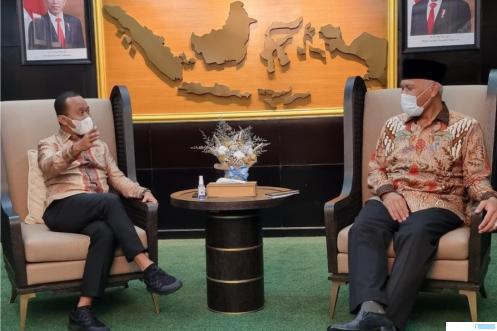 'Gas Pool', Sehari Mahyeldi Temui 3 Menteri