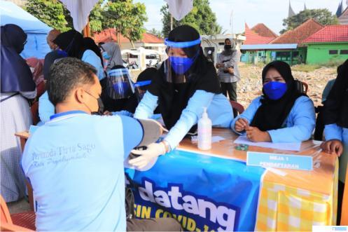 Gebyar Vaksinasi Payakumbuh dimulai. Minggu (20/06/2021). IST
