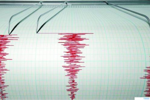 Ilustrasi kekuatan gempa yang terbaca peralatan BMKG. Gempa berkekuatan 5,2 SR mengguncang Kabupaten Pessel, Sumbar, Rabu (05/08/2020) pukul 06.51 WIB. NET