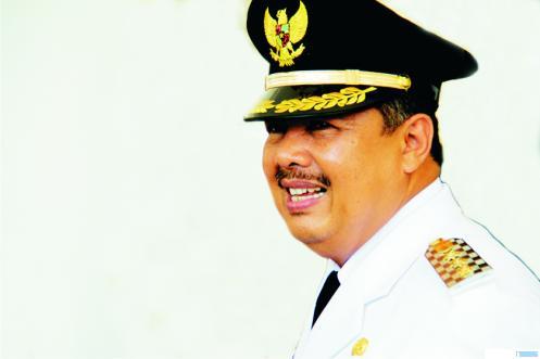 Walikota Solok H. Zul Elfian yang terkonfirmasi positif terinfeksi virus corona, Kamis (27/08/2020) malam. NET