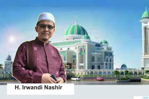 H. Irwandi Nashir Khatib Idul Fitri Perdana di Masjid Tablighiyah Bukittinggi
