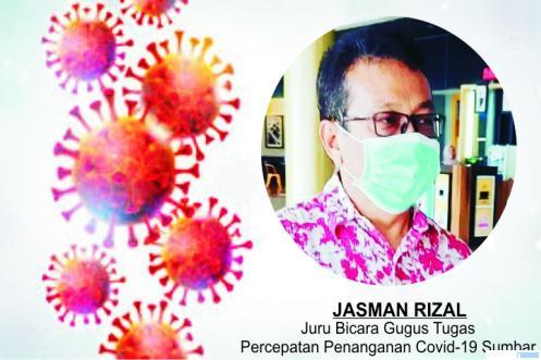 Jasman Rizal, Juru Bicara Gugus Tugas Percepatan Penanganan Covid-19 Sumbar