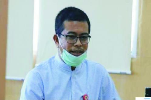 dr. Rahmadian, S, Kadis Kesehatan Kabupaten Dharmasraya yang juga juru bicara Gugus Tugas Percepatan Penanganan Covid-19. NET