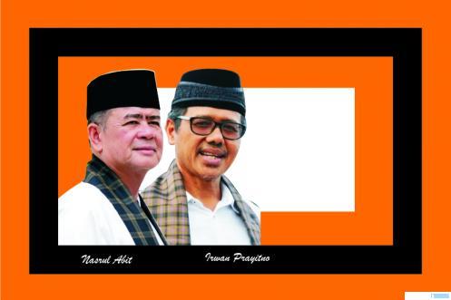 Irwan Prayitno dan Nasrul Abit. Gubernur dan Wakil Gubernur Sumatera Barat itu akan berakhir masa tugasnya, Jumat (12/02/2021). JNC