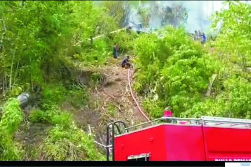 Hutan Bukit Kurai Suliki Terbakar