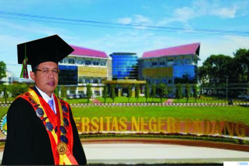 Rektor UNP Prof. Ganefri, Ph.D. JNC