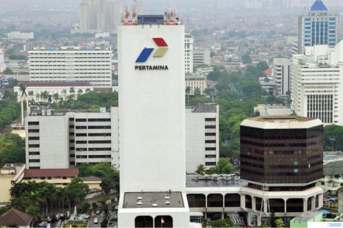 Kantor Pusat Pertamina di Jakarta. NET