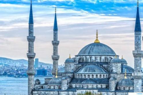 Masjid Hagia Sophia, Istanbul Turki. NET