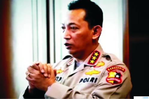 Calon tunggal Kapolri, Komjen. Sulistyo Sigit Prabowo yang diusulkan oleh Presiden Jokowi ke DPR RI. NET