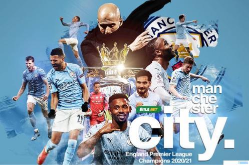 Manchester City menjadi jawara Liga Inggris 2020/2021. BOLA.NET