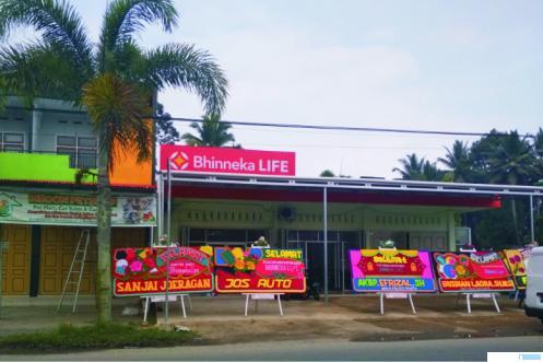 Kantor Baru Bhinneka Life Cabang Luak Limopuluah Diresmikan
