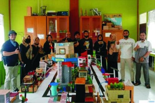 Karya Inovasi dan Tekonologi Tepat Guna pemuda/pemudi Kota Payakumbuh yang diperlombakan oleh Bappeda Kota Payakumbuh. IST