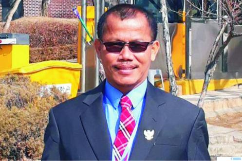 Kepala SMKN 5 Padang, Deta Mahendra, S.Pd, MM