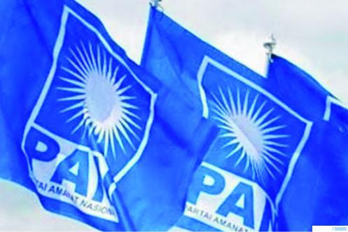 Bendera Partai Amanat Nasional (PAN). NET
