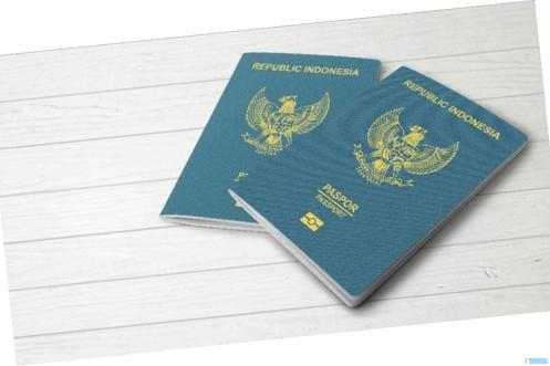 Paspor Indonesia. NET