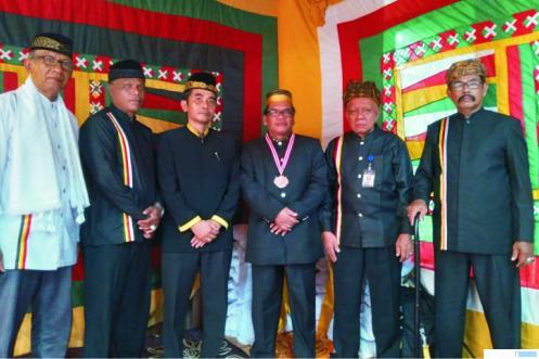 Silaturahmi LKAAM Pasbar dengan Bupati dan Wakil Bupati Pasbar, Sabtu (20/03/2021) di Balerong Daulat Yang Dipertuan Parit Batu Simpang Empat. RIZAL