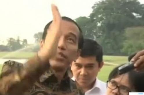Presiden Joko Widodo. NET