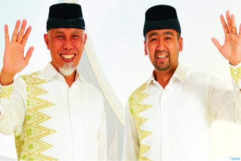 Mahyeldi-Audy Jadilah Gubernur dan Wagubnya Masyarakat Sumbar