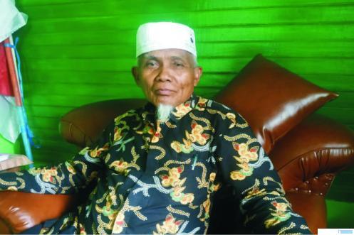 Buya H. Sudirman Syair, Tokoh Luak Limopuluah yang juga Pimpinan Pondok Pesantren Ma'arif As Sa'diyah, Kabupaten Limapuluh Kota. ERZ