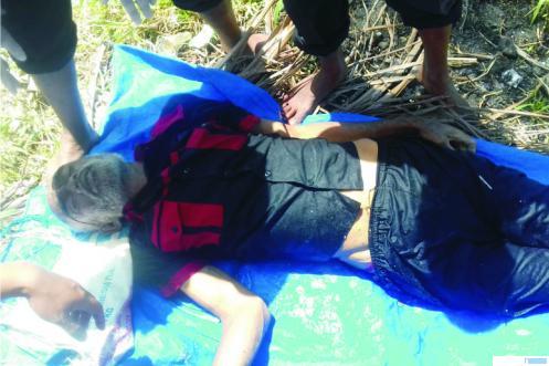 Jenazah warga tanpa identitas yang ditemukan tenggelam di Danau Singkarak, Sabtu (15/08/2020) pukul 10.30 WIB. JON