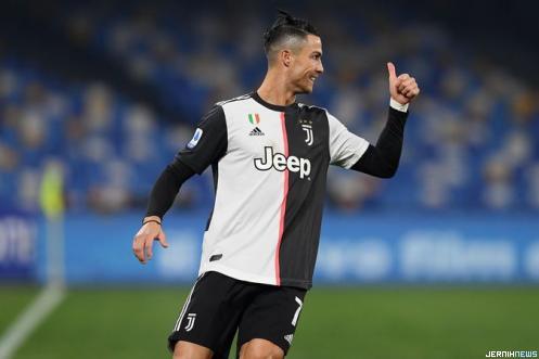 Pesepakbola Juventus Cristiano Ronaldo