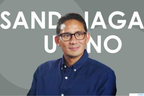 Menteri Pariwisata dan Ekonomi Kreatif RI, Sandiaga Uno. NET