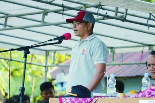Ketua KONI Dharmasraya H Eri Antoni