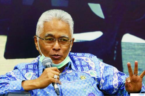 H. Guspardi Gaus, Anggota DPR RI dari Sumbar. NET