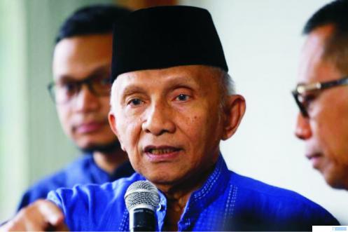 Amien Rais, pendiri PAN yang kini mendirikan partai baru yang diberi nama Partai Ummat. NET