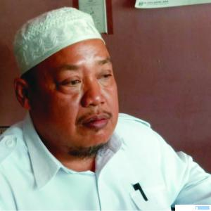 Ketua Nahdlatul Ulama (NU) Kabupaten Pasaman Barat (Pasbar), H. Syawal Suro. RIZAL