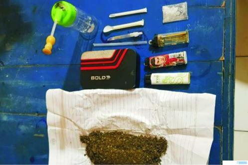 Barang bukti narkoba yang berhasil diamankan jajaran Polres Pessel. TBNS