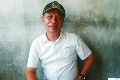 Ketua Organda Kabupaten Limapuluh Kota Ajisman Dt. Bandaro Kayo. NITA
