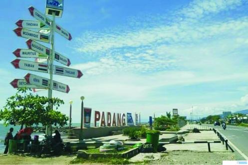 Pantai Padang yang semakin indah sejak Buya Mahyeldi menjadi Walikota Padang. NET