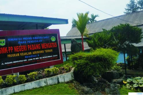 Salah satu sweet corner SMK PP Negeri Padang Mengatas, Kabupaten Limapuluh Kota, Senin (27/07/2020). NITA