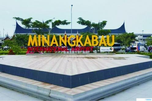 Bandara Internasional Minangkabau (BIM) di Kabupaten Padang Pariaman, Provinsi Sumatera Barat. NET