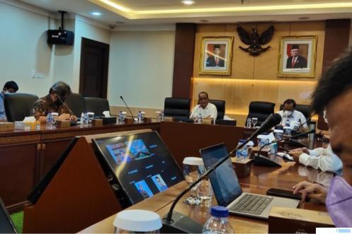 Kemenag RI dan intansi lainnya menggelar rapat persiapan penyelenggaraan ibadah Umroh, Selasa (28/09/2021) di Jakarta. KEMENAG RI