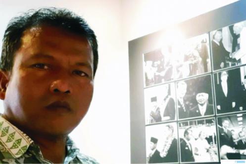Ketua F-PKS DPRD Kab. Solok Nazar Bakri.